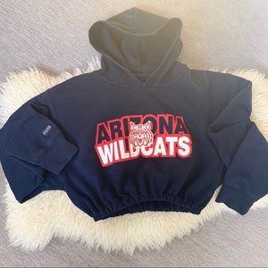 Arizona Wildcats Cropped Hoodie